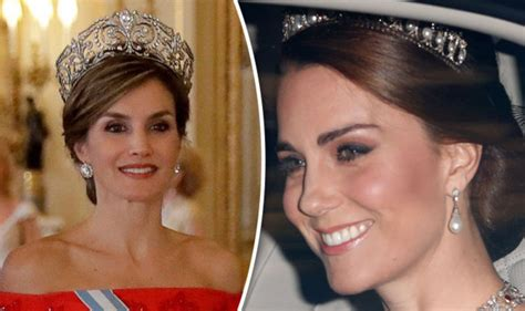 Queen Letizia Kate Middleton Pictures How They Compare