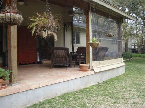 clear vinyl patio enclosure weather curtains lewis