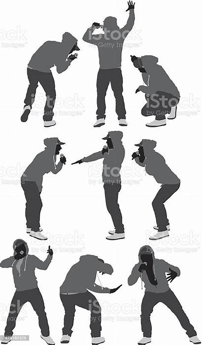 Rapper Vector Hop Hip Dance Illustration Clip