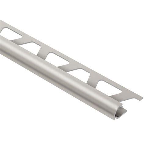 schluter rondec satin nickel anodized aluminum 3 8 in x 8