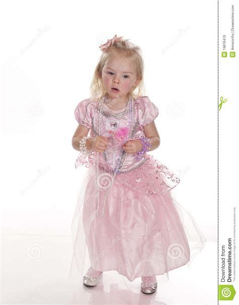 Beautiful Little Girl Princess Stock Photo  Image 19616410