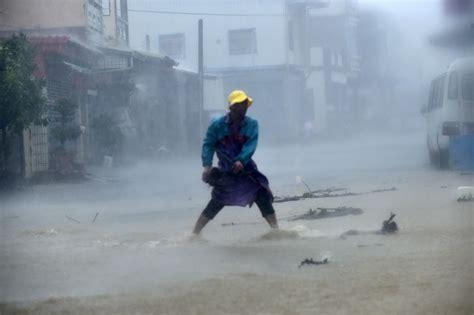 photo gallery super typhoon meranti slams  taiwan