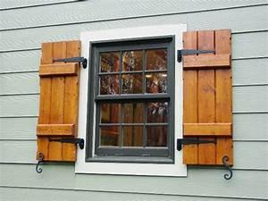 Fensterladen Selber Bauen : fensterladen aus holz schutz und stil ~ Articles-book.com Haus und Dekorationen