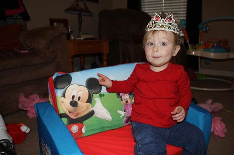 Kids Flip Chair Mickey Mouse