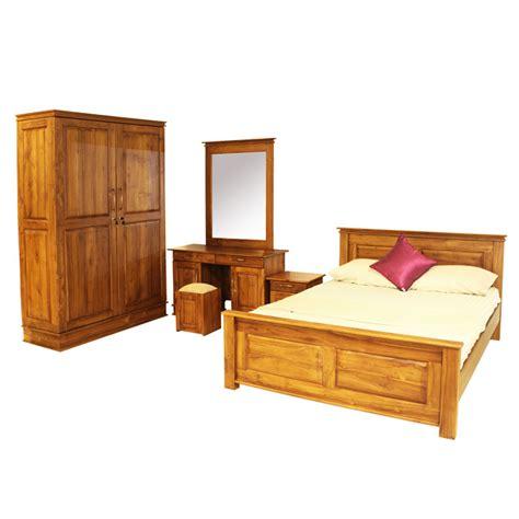 bedroom set verona teak arpico furniture