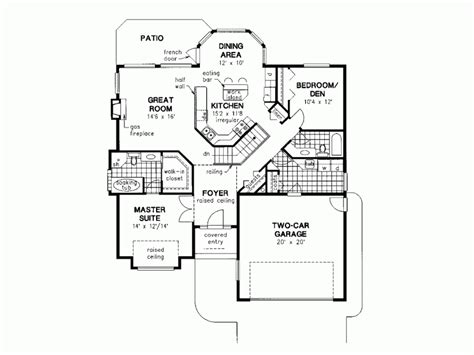 house plans single level gallery for gt simple one 2 bedroom house plans