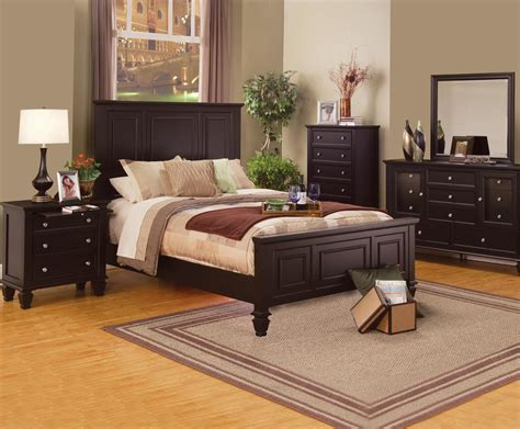 Bedroom Rental Sets by Cappuccino Bedroom Set From Coaster 201991