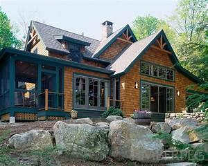 Lakewood Timber Frame Floor Plan by Timberpeg
