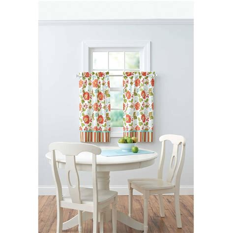 Better Homes And Gardens Jacobean Stripe Kitchen Curtains