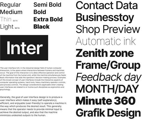 inter  screen optimized font     kinda