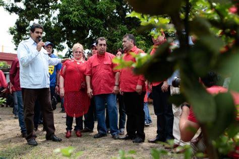 nicolas maduro visita  familia chavez cubadebate