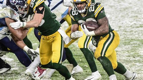 What Will A.J. Dillon's Role Be in the Packers Offense in ...