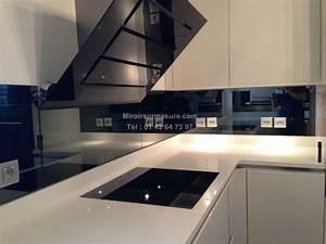 Découpe De Verre Sur Mesure : cr dence miroir sur mesure pour votre cuisine ~ Dailycaller-alerts.com Idées de Décoration
