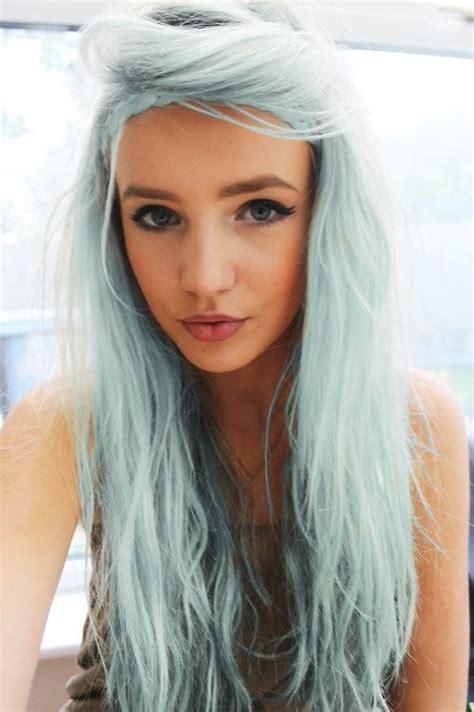 Pastel Hair Blue Green Hair By Janny Dangerous Hair Nd