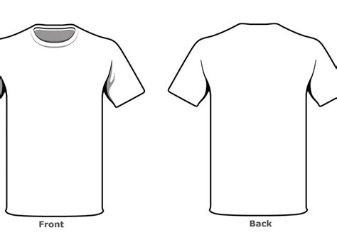 front and back template tshirt blank tshirt template front back side in high resolution