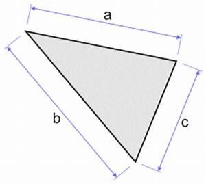calcul de la surface d39un triangle With comment calculer la surface d une chambre