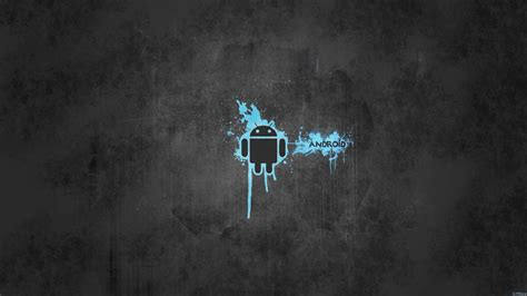 simple blue android hd image wallpaper wallpaperlepi