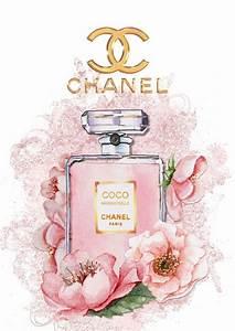 les 25 meilleures idees de la categorie coco chanel logo With affiche chambre bébé avec parfum fleuri oriental