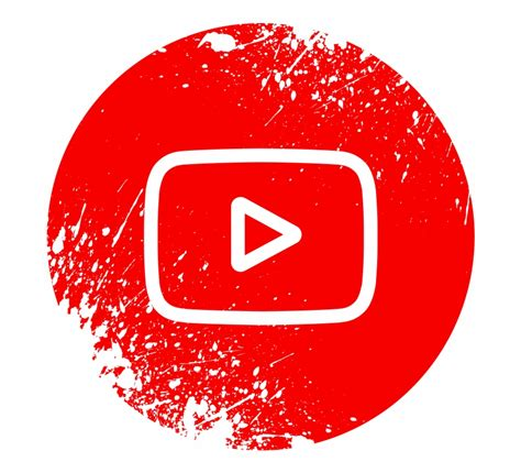 youtube logo circle png 10 free Cliparts | Download images ...