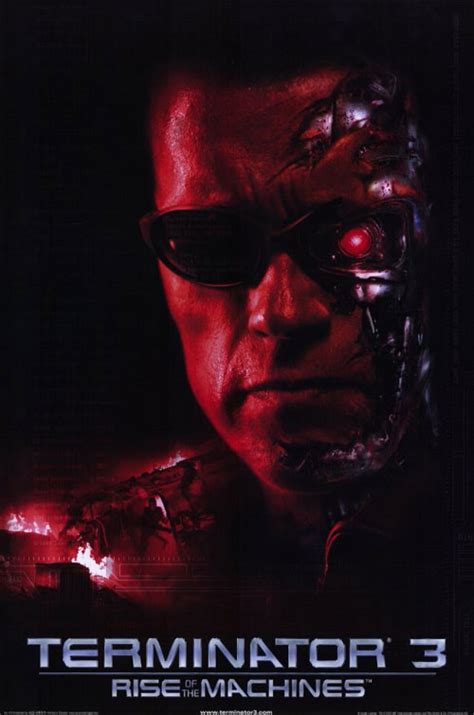 Terminator 3: Rise of the Machines (2003) movie poster #3