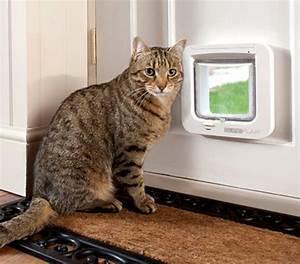 Katzenklappe Für Fenster : sureflap katzenklappe mit mikrochiperkennung 21 x 21 cm dehner ~ Eleganceandgraceweddings.com Haus und Dekorationen