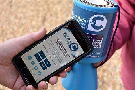 Cashless Giving Added To Traditional Charity Collection