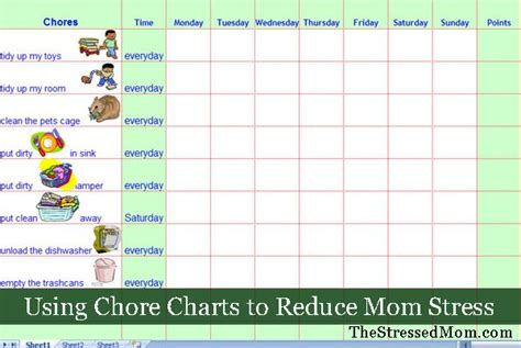 + Ideas About Chore Chart Template On Pinterest
