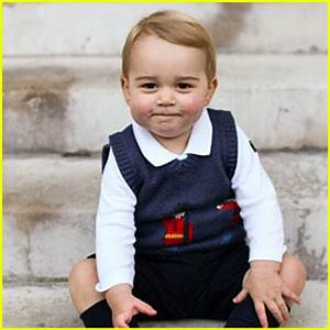 Prince George is the Cutest in These New Baby Pics ...
