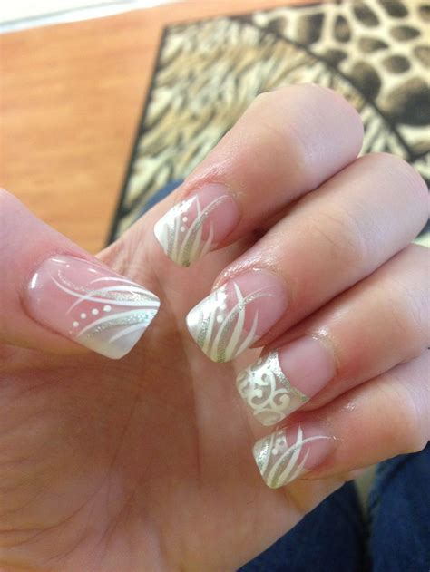 nail designs for nails glamorous wedding nail designs for gorgeous look ohh my my