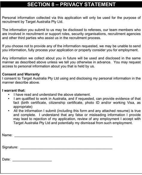 blank job application form templates sles pdf word
