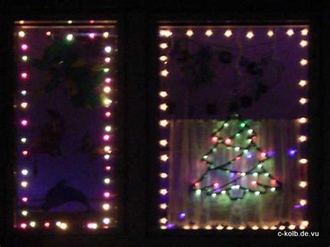 Weihnachtsbeleuchtung Fenster Bunt by Weihnachtsbeleuchtung 2010 C Kolb