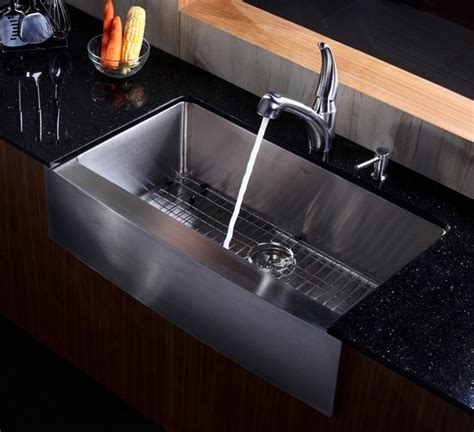 36 inch apron sink kraus 36 inch farmhouse apron single bowl stainless steel