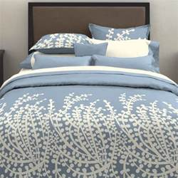 city scene branches french blue comforter set contemporary bedding by hayneedle