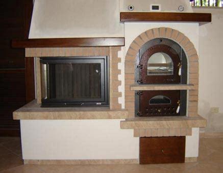 rivestimenti forni a legna camino forno rustico in mattoni rosati modello taverna secam