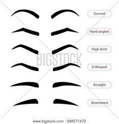 printable eyebrow stencils    print