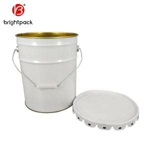 This freebie mockup of 20l tin paint bucket is especially useful for presenting your designs to clients or showing off your work in your portfolio. Custom 20L Paint Tin Pail Manufacturers, Suppliers ...