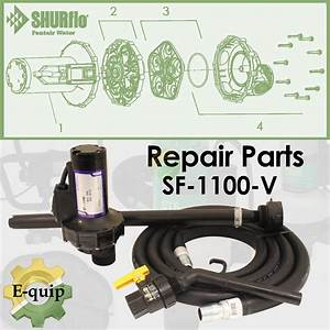 Replacement Parts For Shurflo Sf