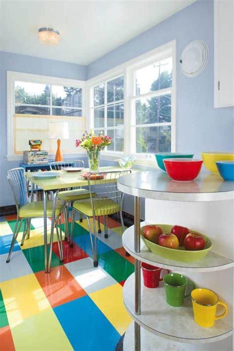 mid century modern kitchen flooring ideas for kitchen floors linoleum tile more 9165