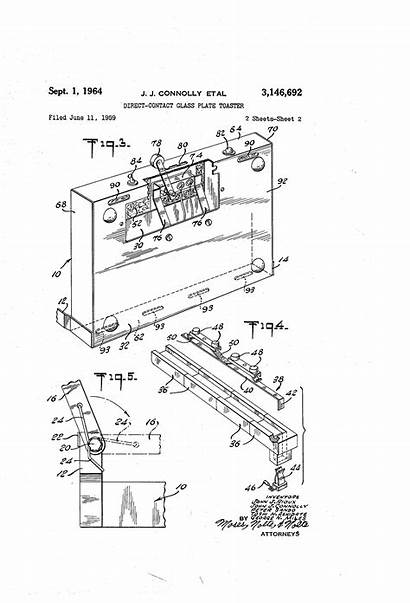 Patent Toaster Patents Drawing
