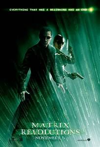 The Matrix Revolutions Poster - The Matrix Fan Art ...