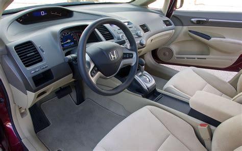 2008 honda civic interior 2008 honda civic ex test motor trend
