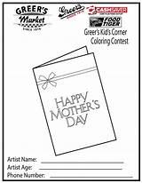 Coloring Corner Spring Preschool Greer Sheets Kid sketch template
