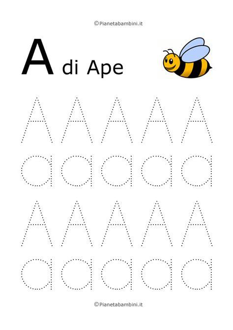 Imparare Le Lettere by Imparare A Scrivere Le Lettere Dell Alfabeto