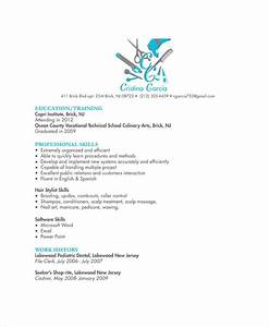 Resume For A Cosmetologist Hair Stylist Resume Example 6 Free Pdf Psd Documents