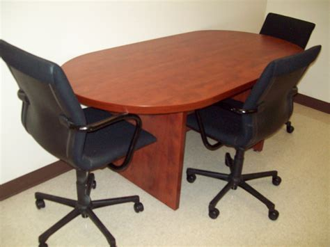 used conference room tables chairs in all shapes sizes