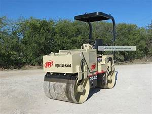 Ingersoll Rand Dd 22 Compactor Roller Vibratory Dual Drum