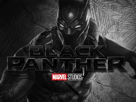 black panther wallpaper  marvel studios logo hd