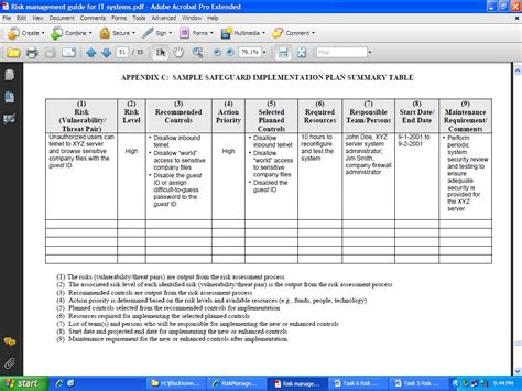 Contingency Plan Examples Registration Form Word Template
