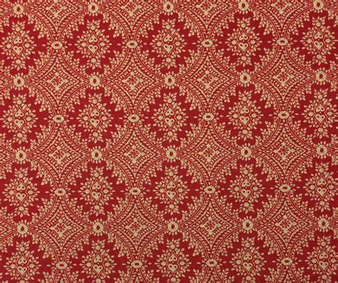 Ballard Designs Sydney Berry Red Medallion Linen Designer