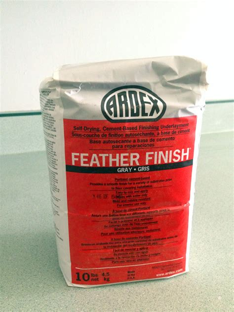 ardex feather finish floor leveler henry feather finish countertop home design ideas
